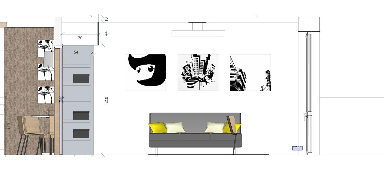 Buto interjeras | A2X2 ARCHITEKTAI